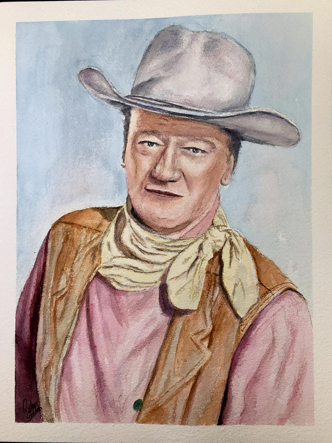 John Wayne by Richard Benson