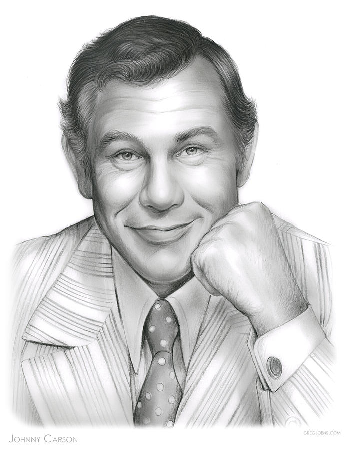 Johnny Carson Drawing