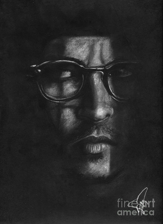 Johnny Depp Drawing - Johnny Depp 2 by Rosalinda Markle