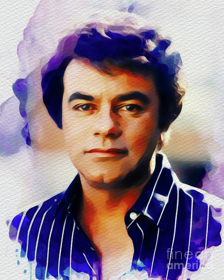 Johnny Mathis, Music Legend Painting