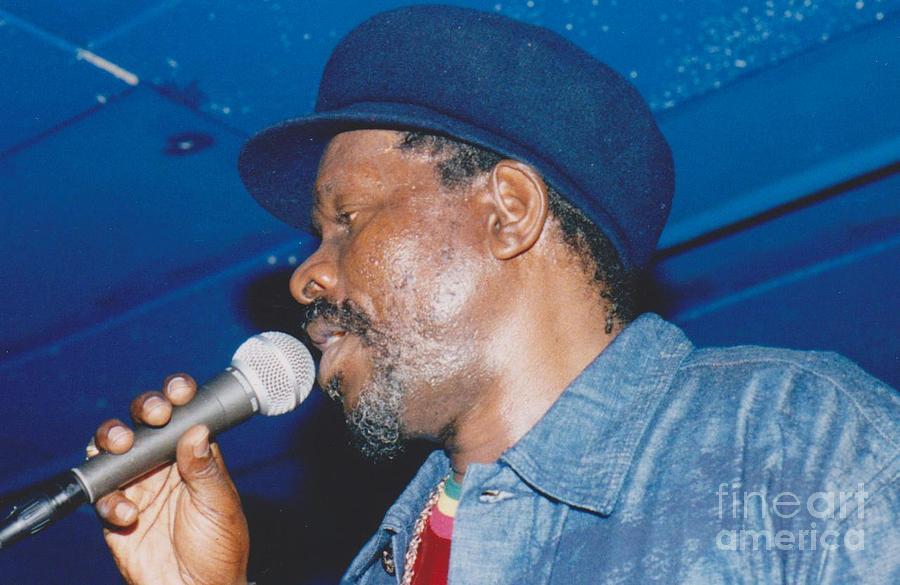 Reggae Music Photograph - Johnny Osbourne by Mia Alexander