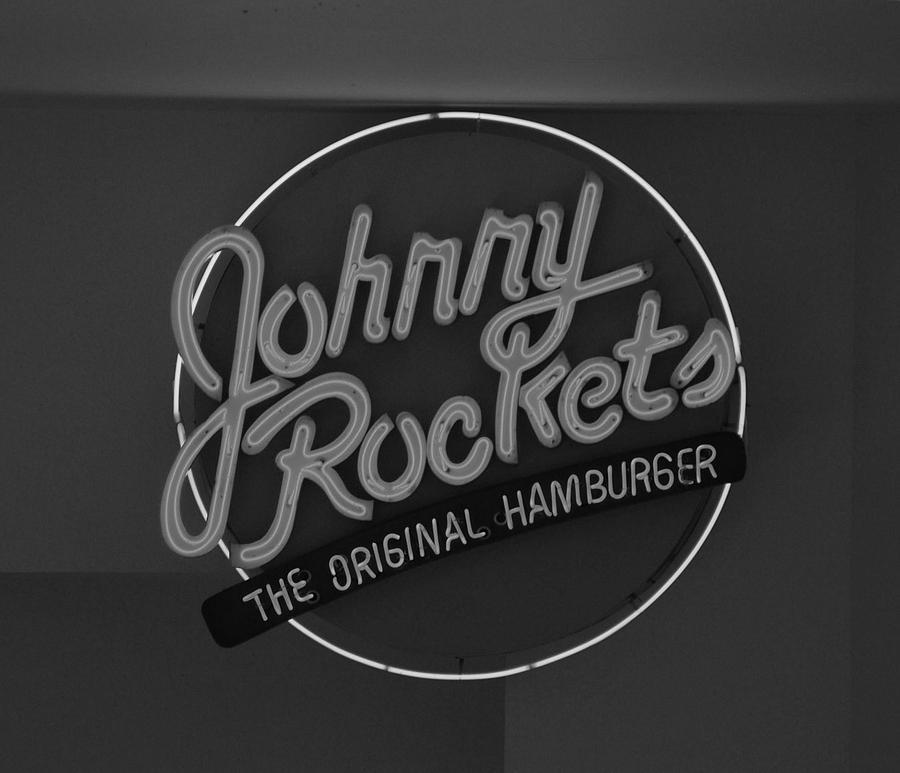 Macro Photograph - Johnny Rockets by Rob Hans