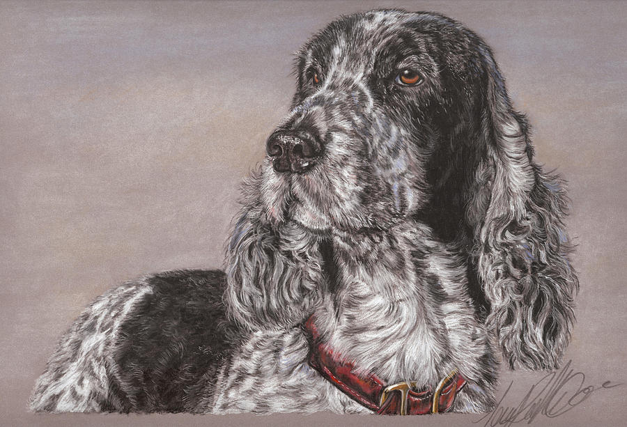 Dog Pastel - Johnny by Terry Kirkland Cook