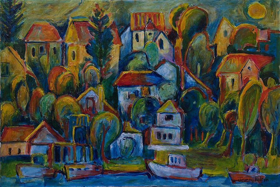 Oil Painting - Joie De Vivre by Jeremy Holton