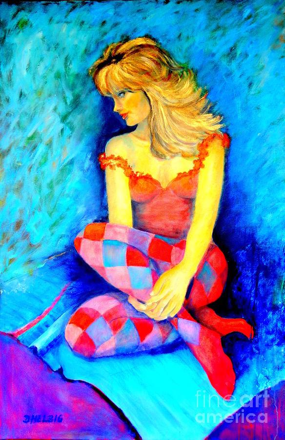 Joker Painting - Joker 3 by Dagmar Helbig