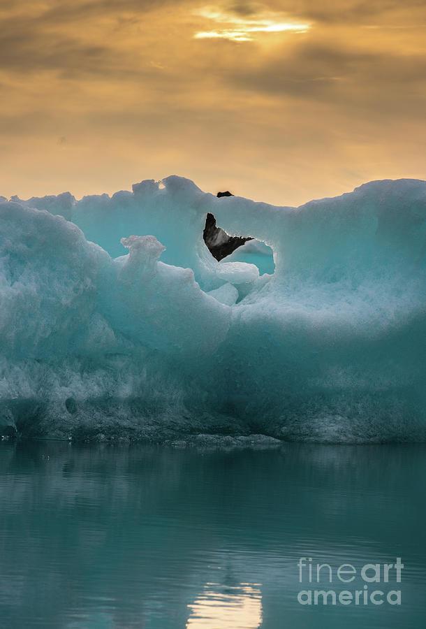 Iceland Photograph - Jokulsarlon Ice Sculptures by Mike Reid