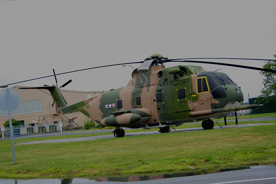Sikorsky S-61 Photograph - Jolly Green by Christopher Kirby