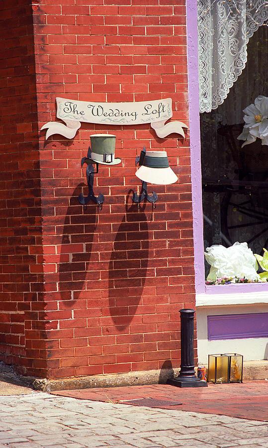 America Photograph - Jonesborough Tennessee - Wedding Shop by Frank Romeo