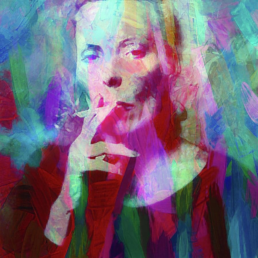 Joni Mitchell Mixed Media