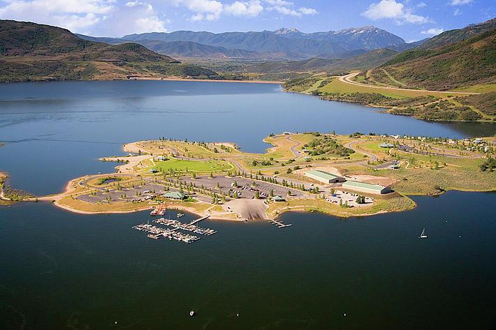 Jordanelle Reservoir Utah Photograph