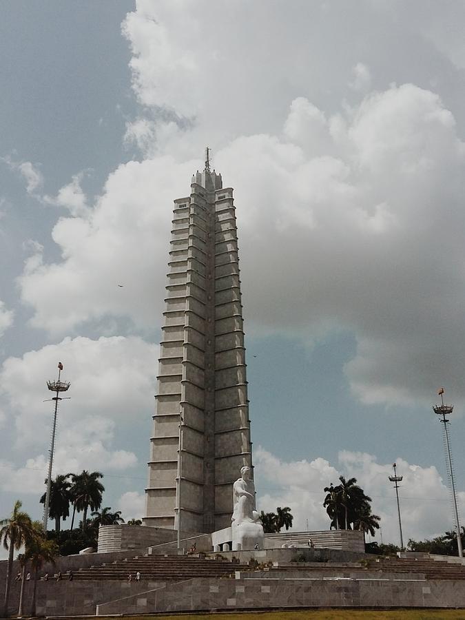 Jose Marti Memorial  Photograph by Eloviano Maya