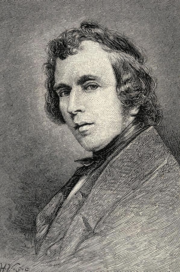 History Drawing - Joseph Severn 1793   1879 English by Vintage Design Pics