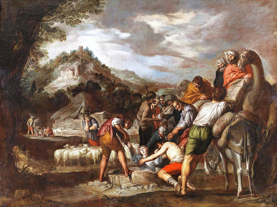 Antonio Del Castillo Y Saavedra Painting - Joseph Sold By His Brothers by Antonio del Castillo y Saavedra