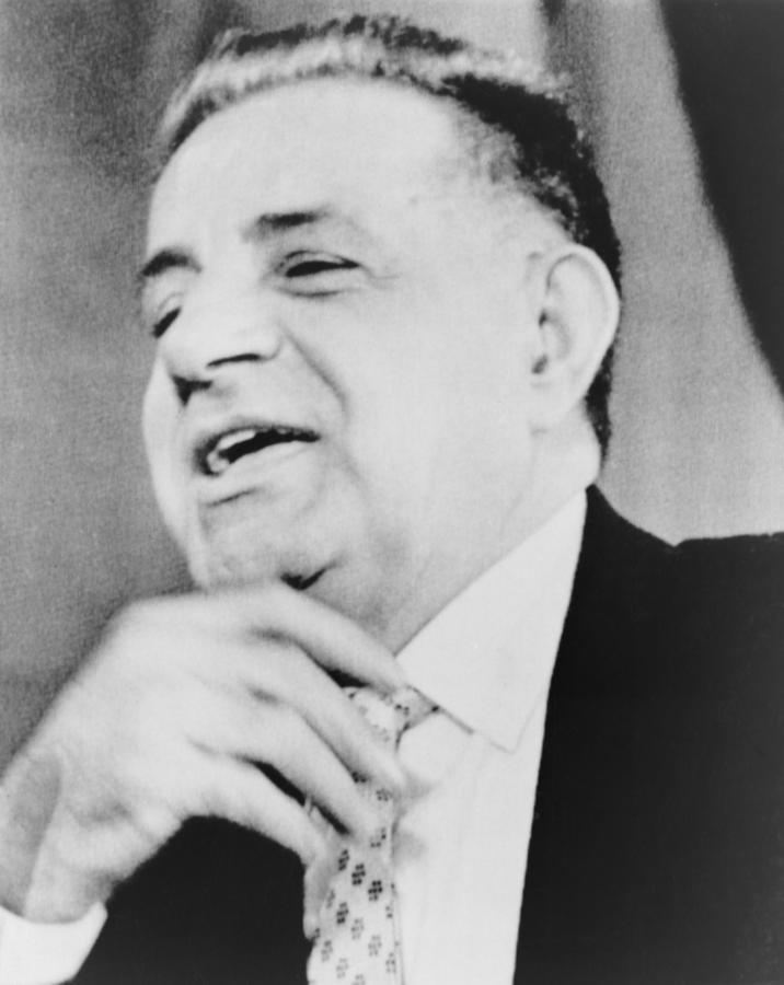 History Photograph - Joseph Valachi, Singing by Everett