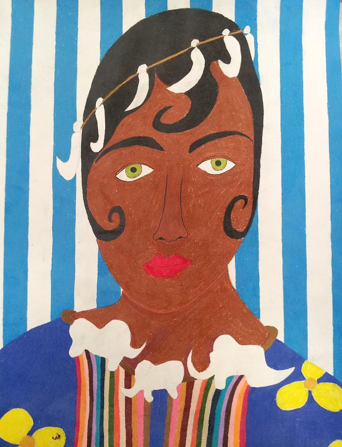 Josephine Baker 5 Drawing