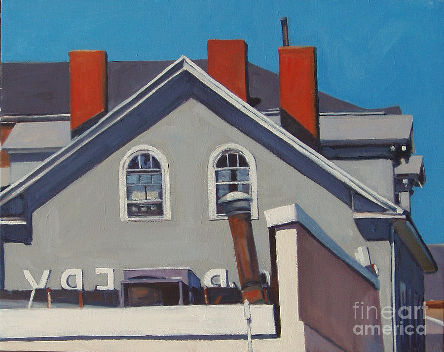 South Boston Painting - Josephs by Deb Putnam