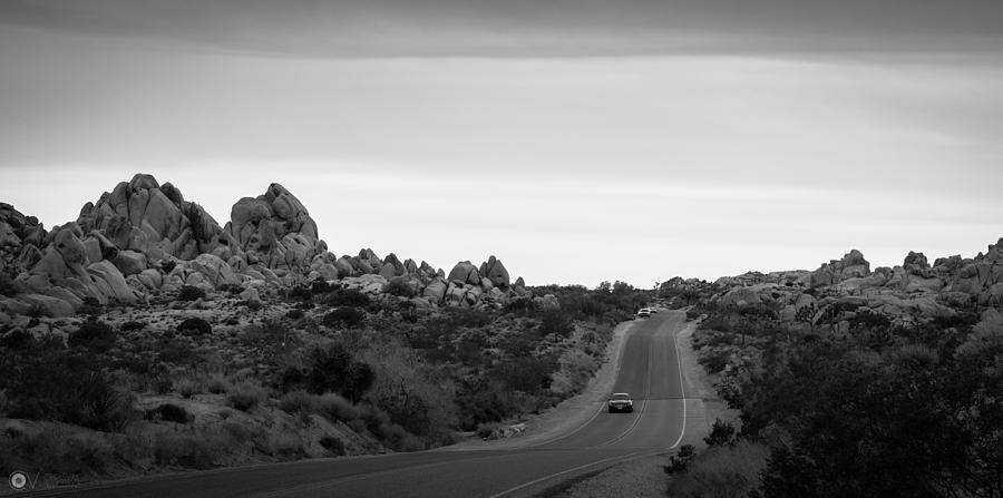Road Photograph - Joshua Tree Landscape by Christian Vaccese