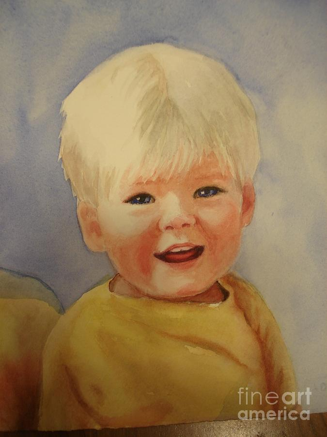 Joshuas Youngest Brother Painting by Marilyn Jacobson
