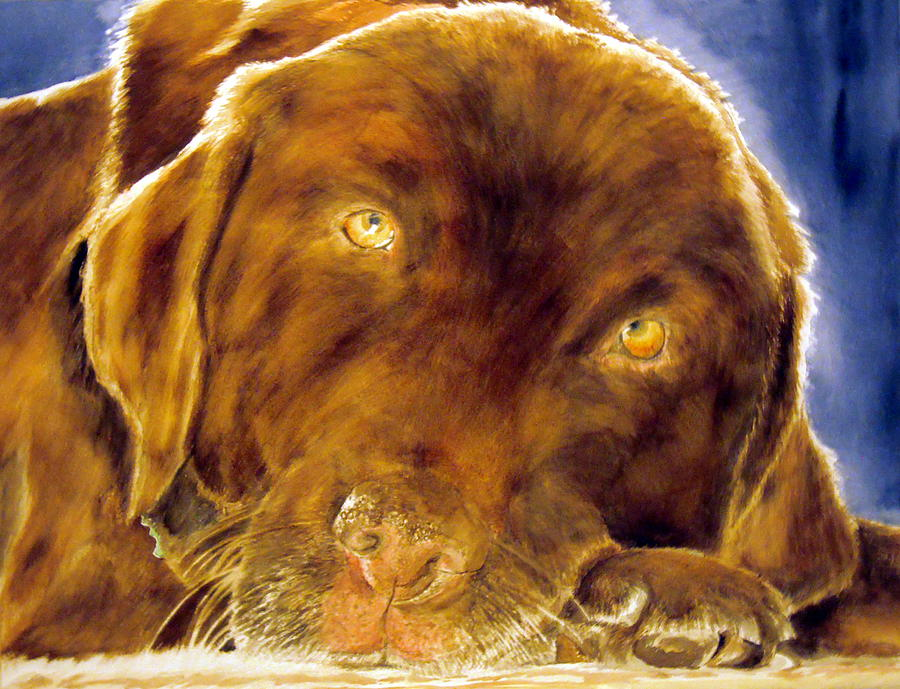 Pet Painting - Josie by Susan Gauthier