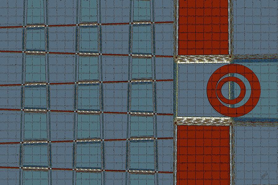 Geometric Abstract Digital Art - Journey by Ben and Raisa Gertsberg