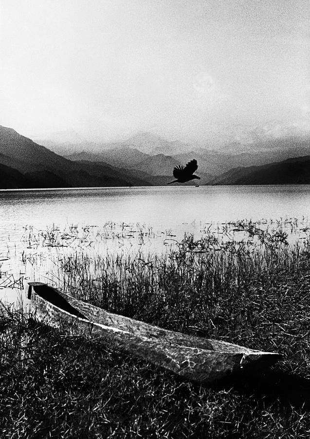 Canoe Lake Photograph - Journey by Jimmy Bruch