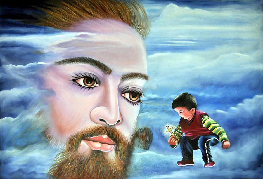 Love Digital Art - Journey With Jesus by Bliss Of Art