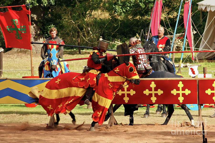 Jousting Photograph - Jousting by Terri Waters
