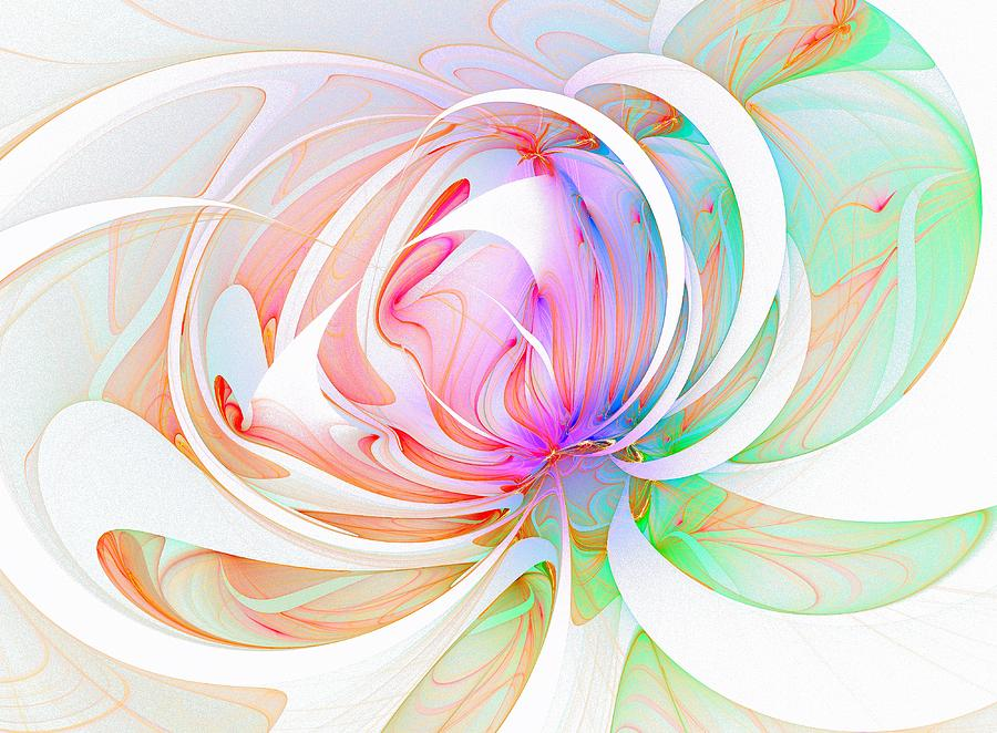 Fractals Digital Art - Joy by Amanda Moore