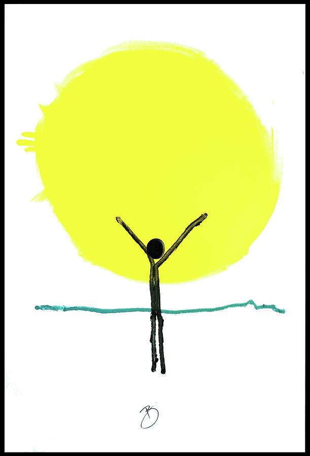 Joy Painting - Joy And Gratitude by Richard Buckley