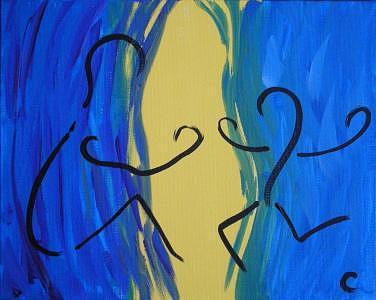 Joy Painting by Christina Wilson