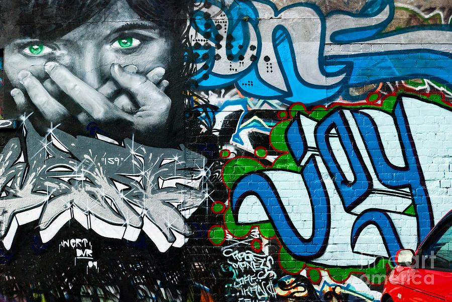 Joy Graffiti Wall