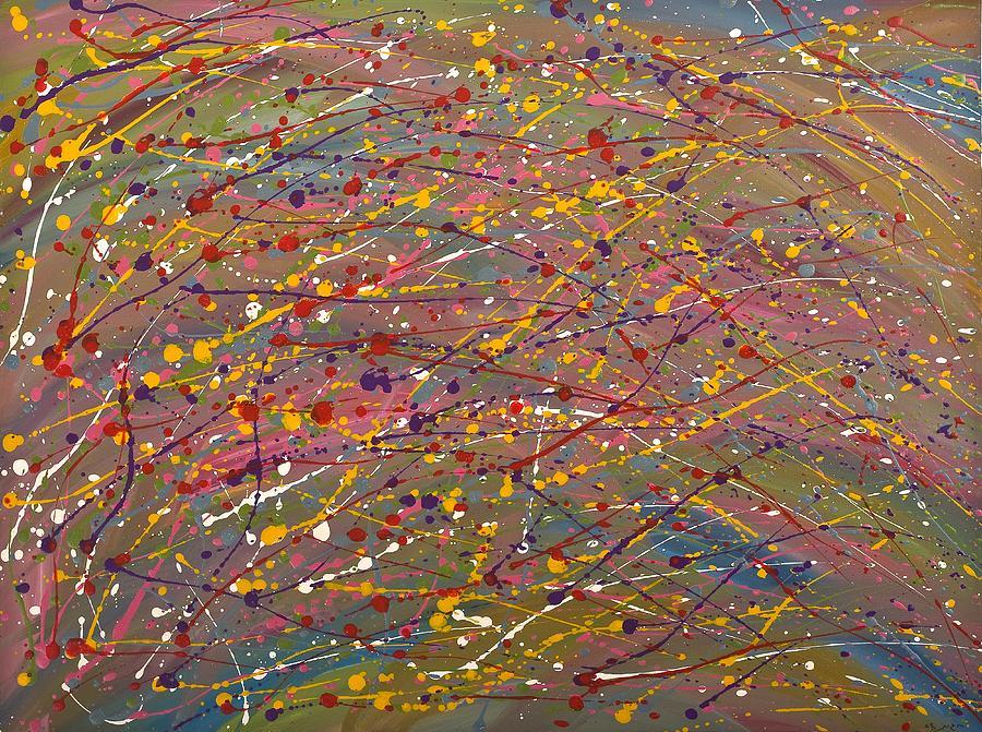 Joy Painting - Joy by Hagit Dayan