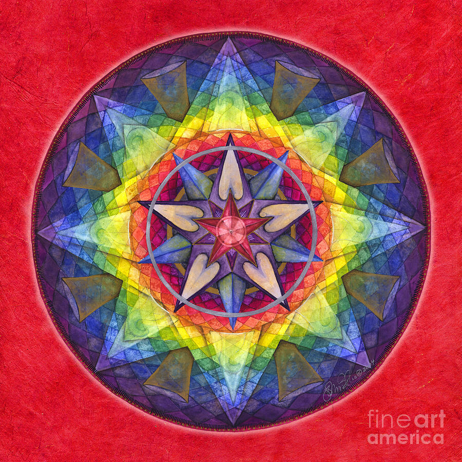 Joy Mandala by Jo Thomas Blaine