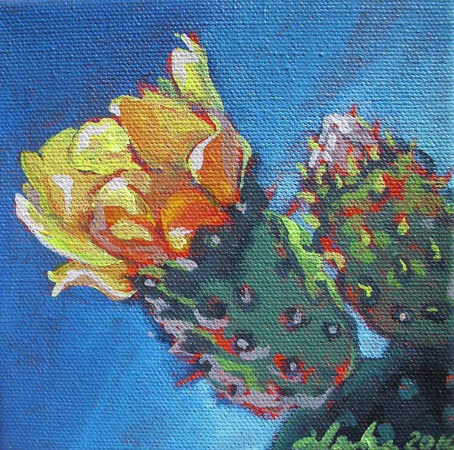 Desert Painting - Joy Of Spring  by Aleksandra Buha