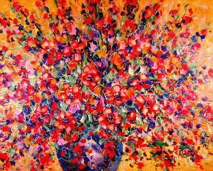 Flowers Painting - Joy Of Summer by Natalie Holland