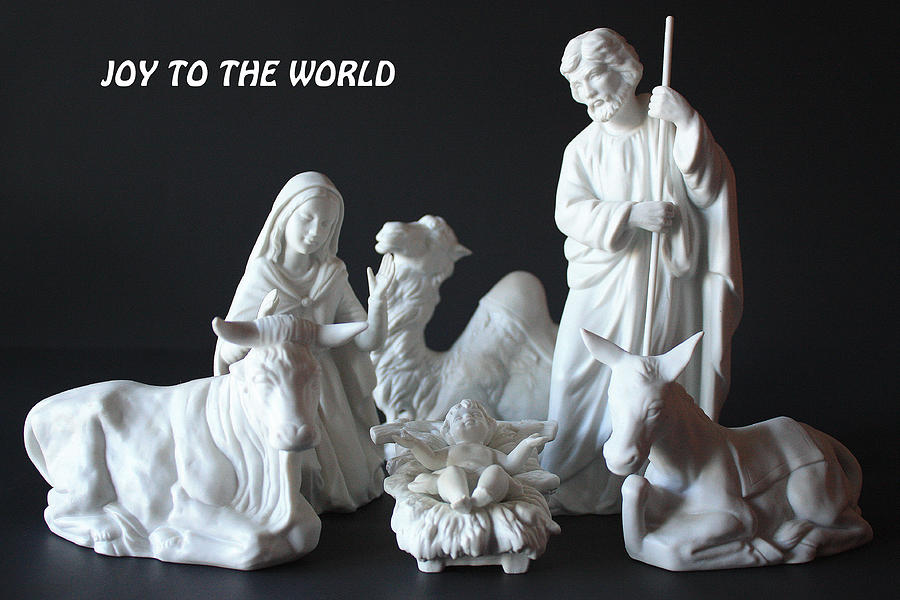 Joy To The World Photograph - Joy To The World by Angela Comperry