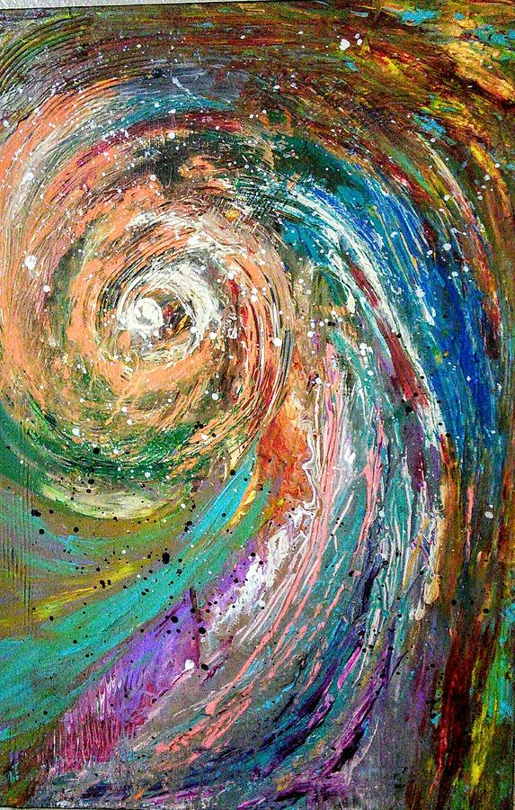 Happiness Painting - Joy by Valerie Josi
