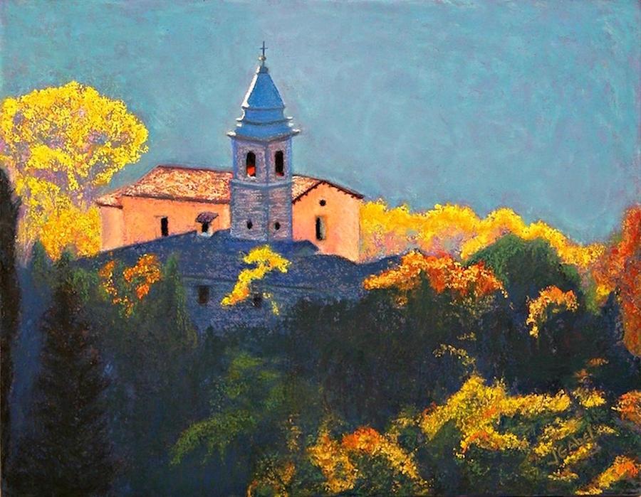 Landscape Pastel - Joyful Morning by Laura Gabel