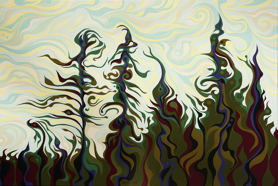 Joyful Pines, Whispering Lines by Amy Ferrari