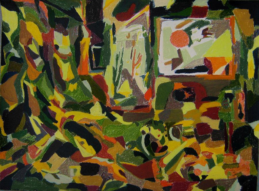 Fantasy Painting - Joyful Renovation  by Tadeush Zhakhovskyy