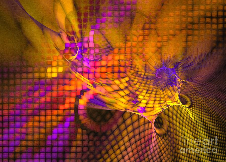 Joyride - Abstract Art Digital Art