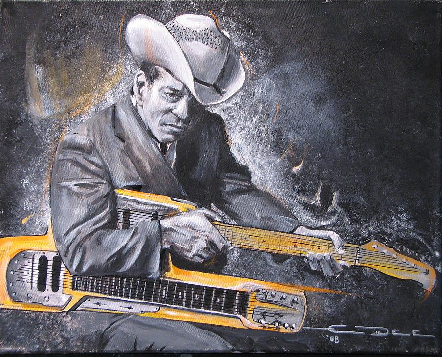 Hendrix Painting - Jr. Brown by Eric Dee