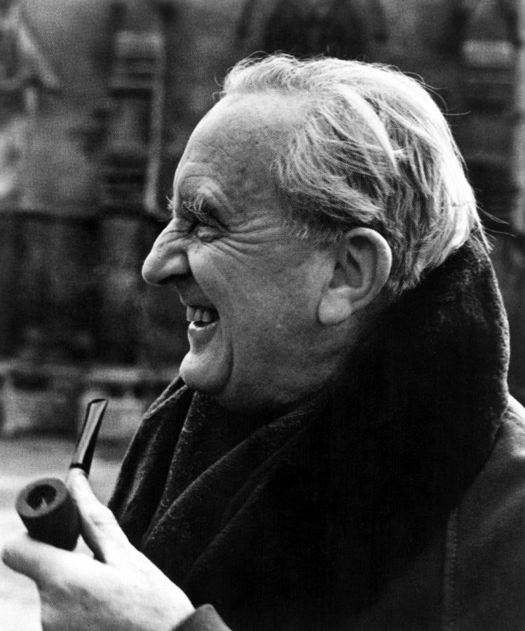 Author Photograph - J.r.r. Tolkien, Circa 1981, Author by Everett
