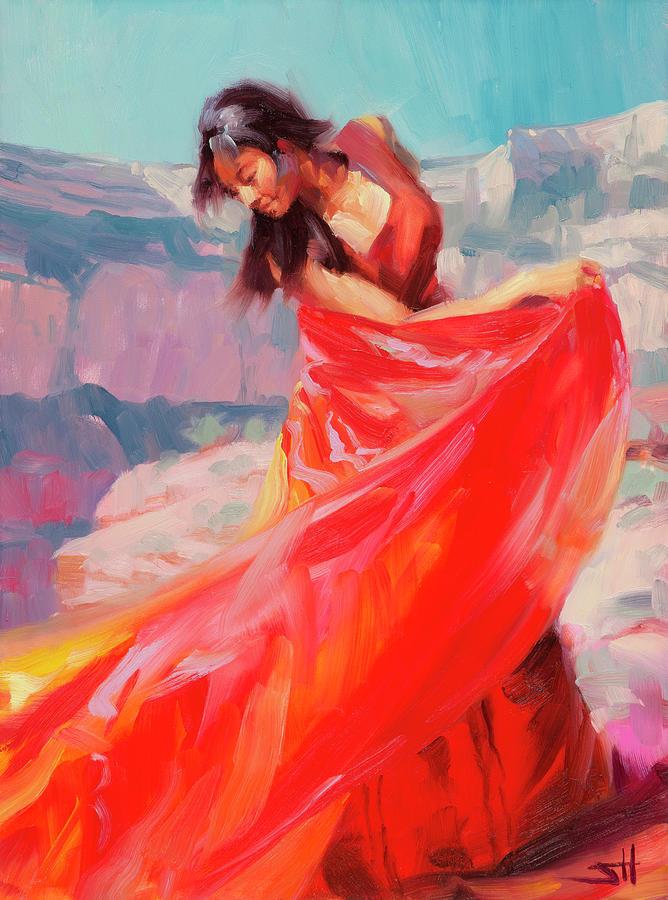 Southwest Painting - Jubilee by Steve Henderson