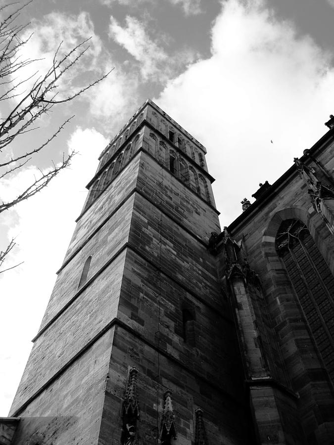 Cathedral Photograph - Judgment by Dylan Punke