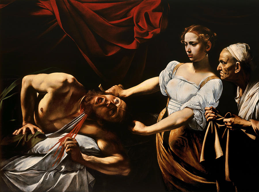 Caravaggio Painting - Judith And Holofernes by Caravaggio
