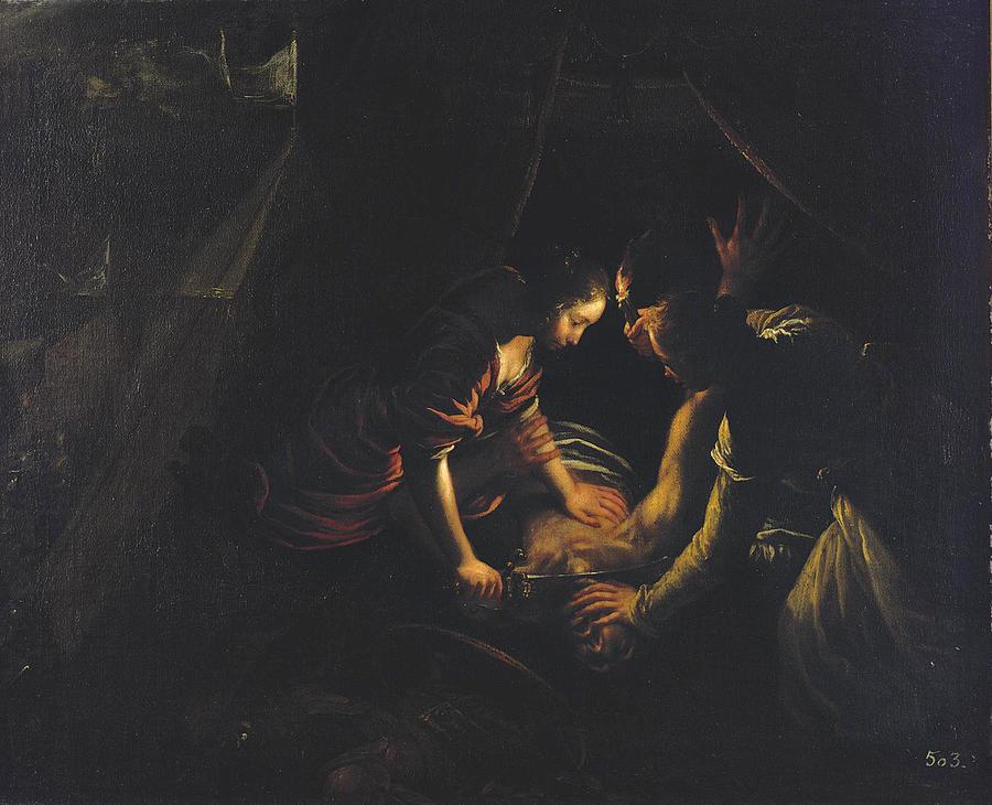 Francesco Cairo Painting - Judith And Holofernes by Francesco Cairo