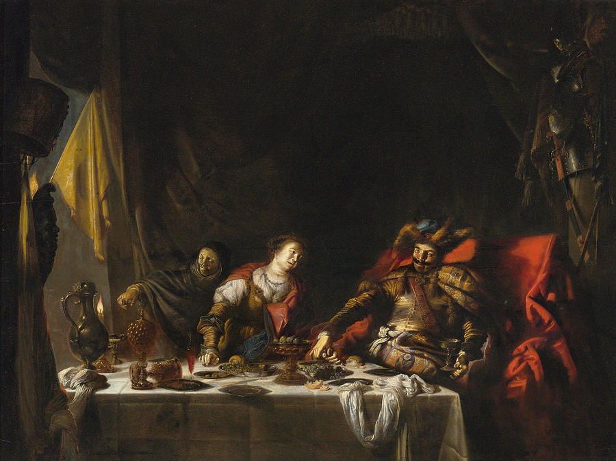 Judith And Holofernes Painting - Judith And Holofernes by Willem Bartsius