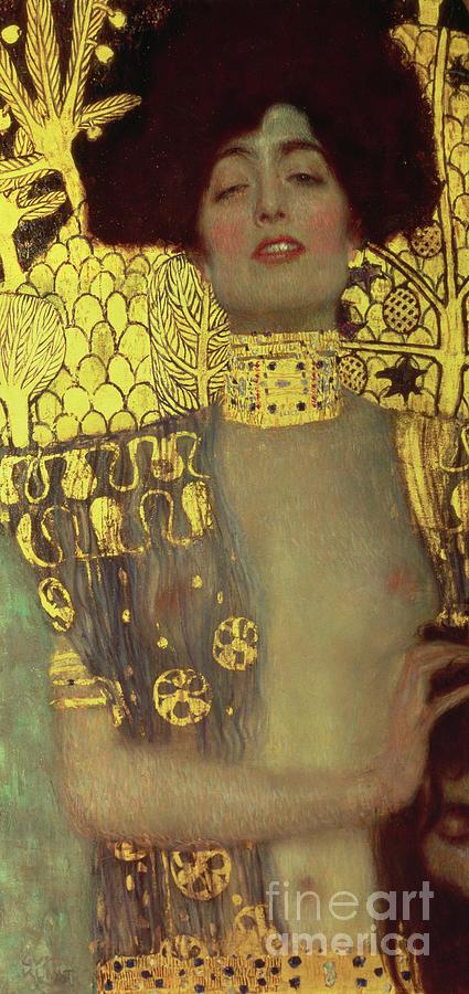 Judith Painting - Judith by Gustav Klimt