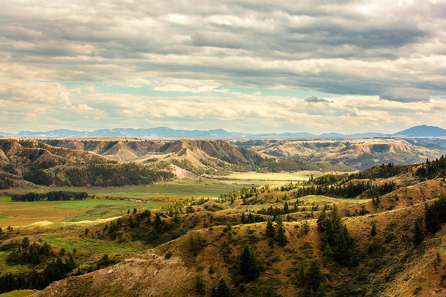 Western Photograph - Judith River Breaks by Todd Klassy